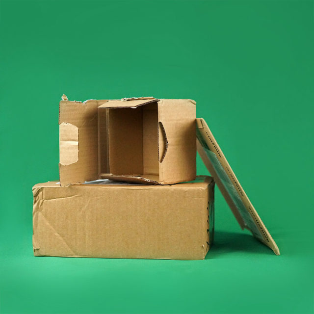 carton récupéré zerowaste