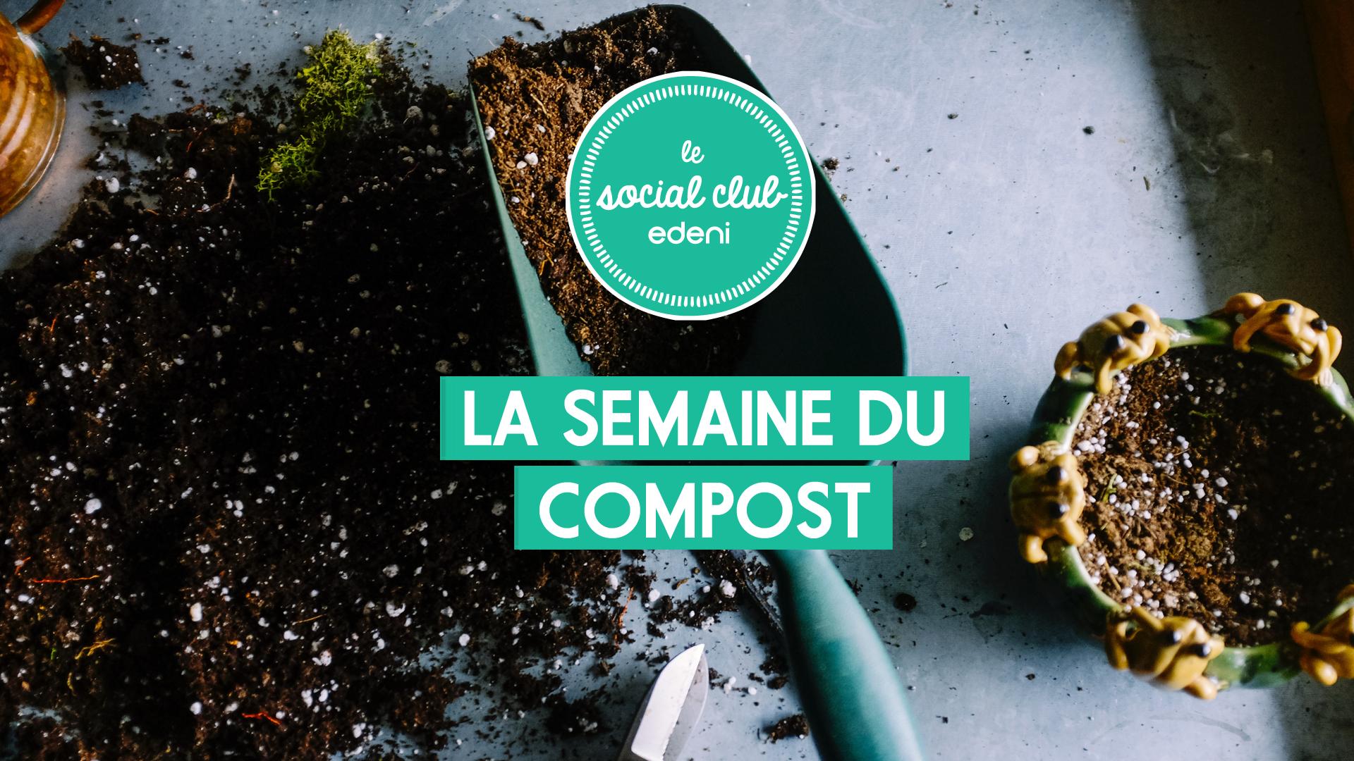 Que faire pendant la semaine du compost ?