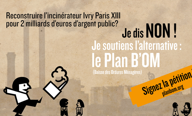 Non à l'agrandissement de l'incinérateur d'Ivry sur Seine